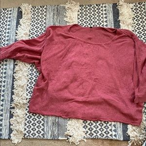 Rose colored light sweater- urban outfitters